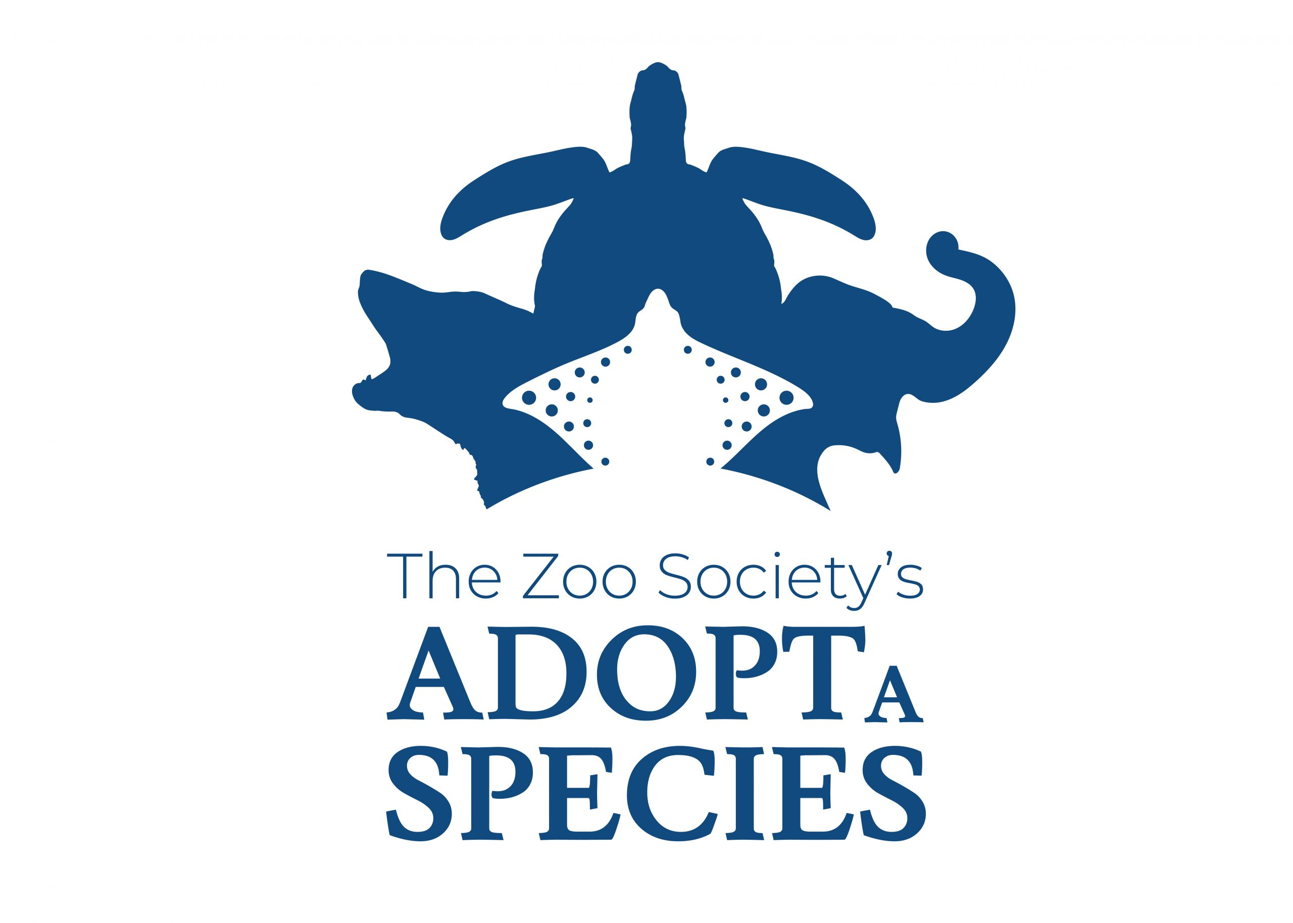 Zoo Society Adopt a Species logo