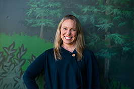 Anne Gintz, Development Manager of Tacoma Zoo and Aquarium Society