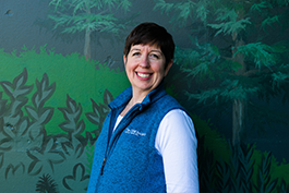 Lisa Johnson, Senior Development Director of Tacoma Zoo and Aquarium Society